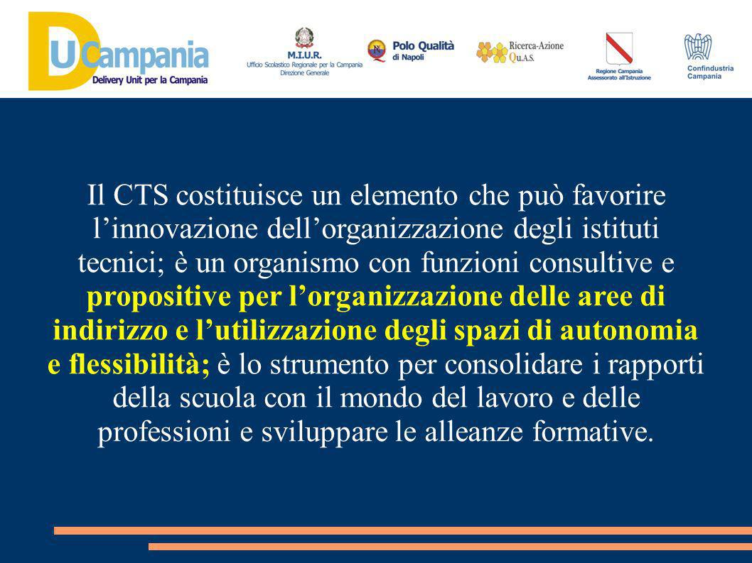 Pur non essendovi una specifica regolamentazione in materia, la costituzione del CTS non può che essere formalizzata con apposite delibere degli organi collegiali della scuola nel rispetto dei ruoli istituzionali di ciascun organo.