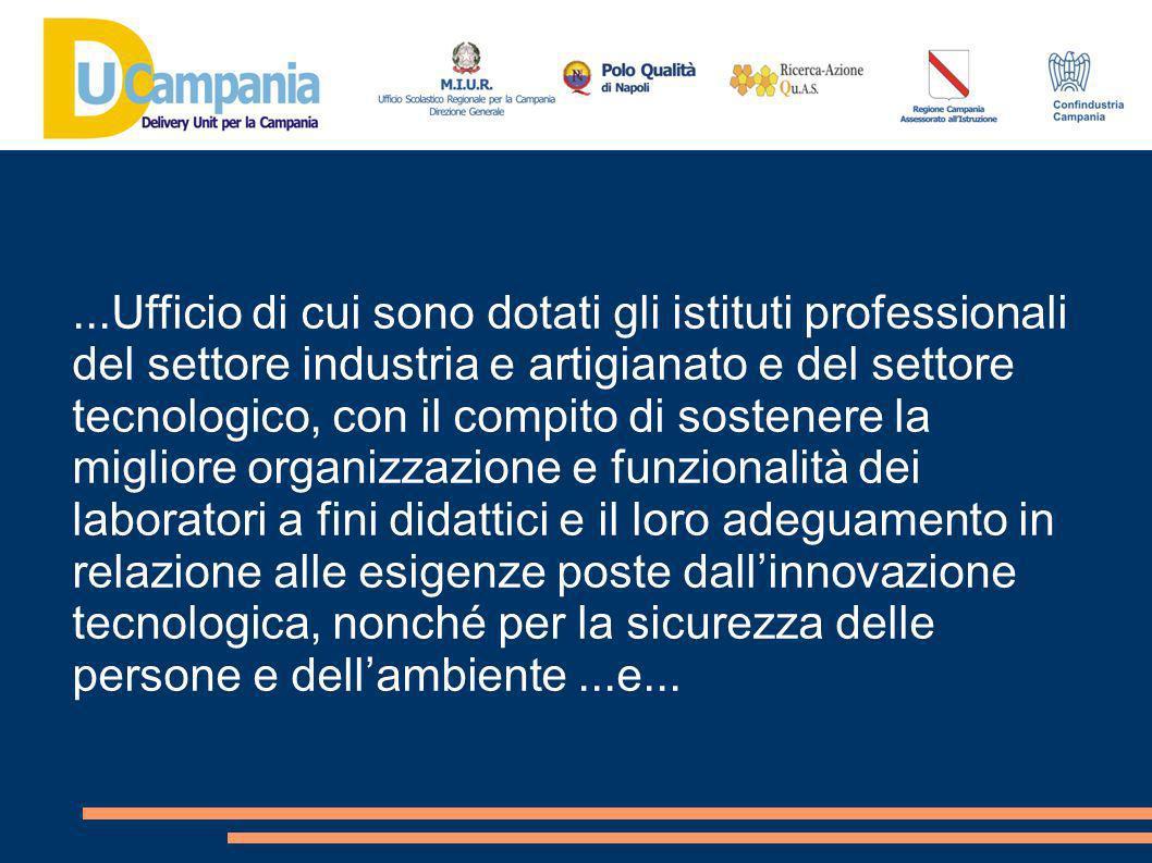 ...aggiungiamo con il compito di sostenere il controllo qualitativo dei processi : Didattici Organizzativi Gestionali