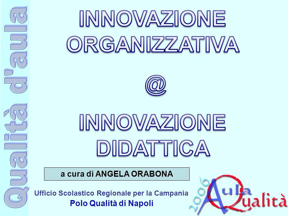 Ufficio Scolastico Regionale per la Campania Polo Qualità di Napoli a cura di ANGELA ORABONA