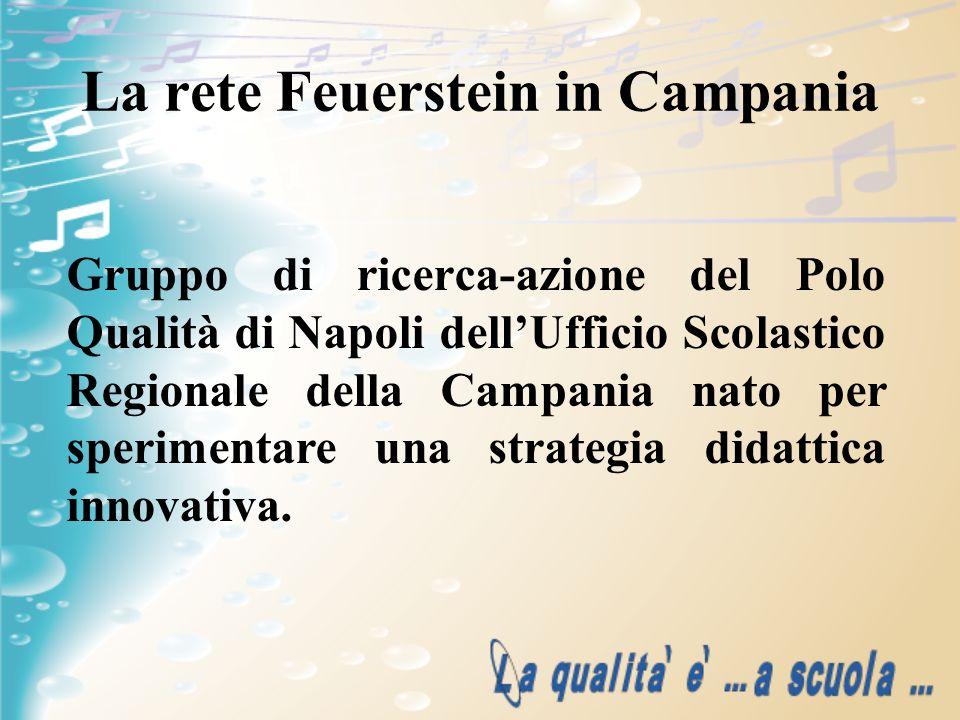La rete Feuerstein in Campania Gruppo di ricerca-azione del Polo Qualità di Napoli dellUfficio Scolastico Regionale della Campania nato per sperimenta