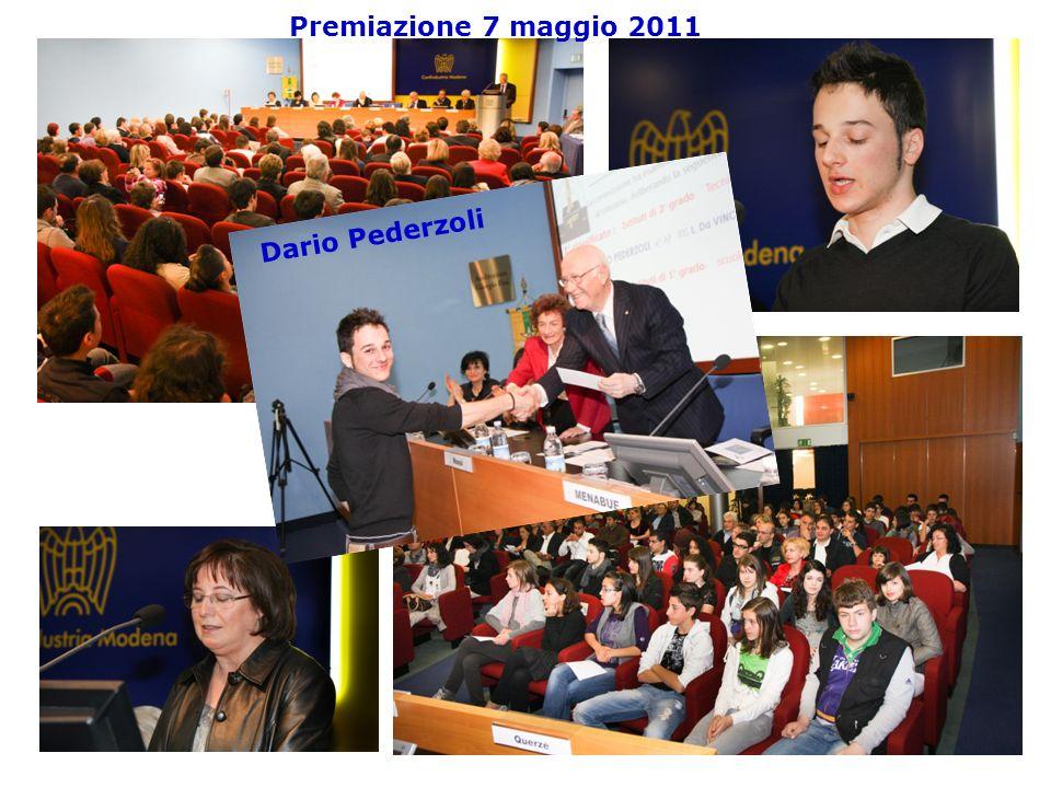 27 Premiazione 7 maggio 2011 Dario Pederzoli