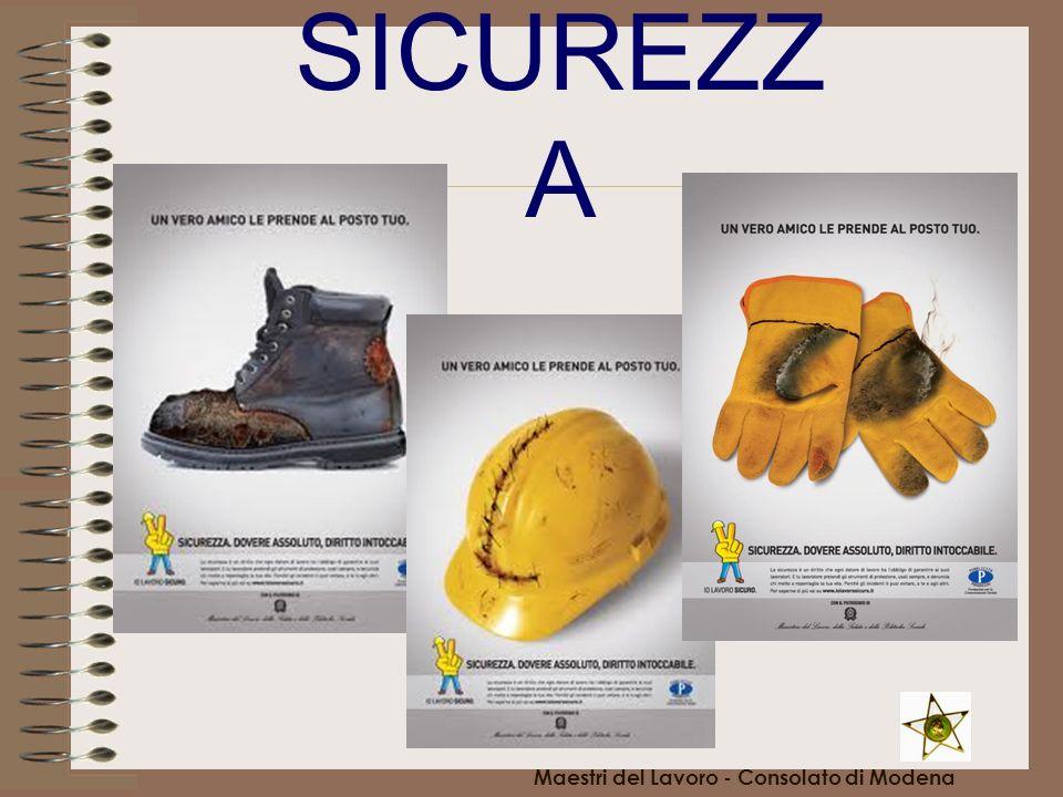 SICUREZZ A Maestri del Lavoro - Consolato di Modena