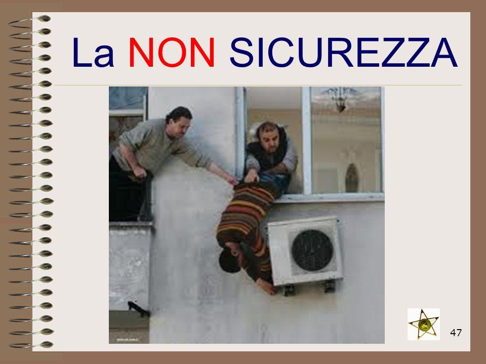 47 La NON SICUREZZA