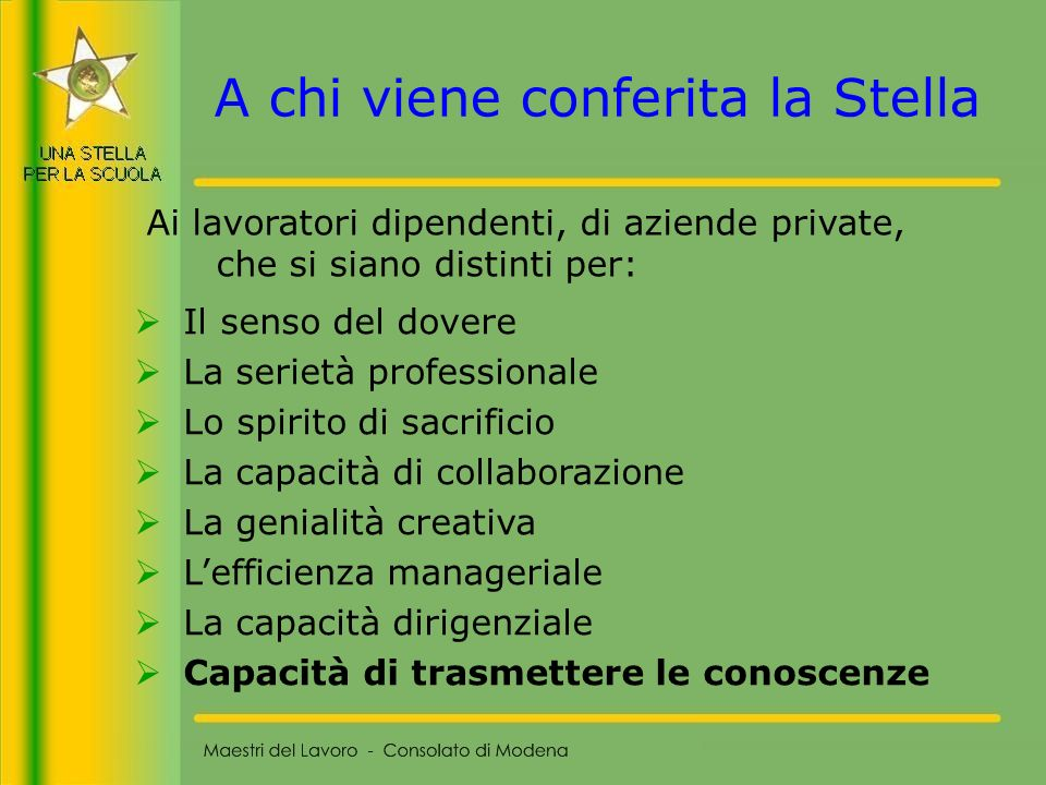 46 La NON SICUREZZA Maestri del Lavoro - Consolato di Modena