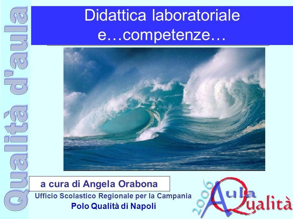 Ufficio Scolastico Regionale per la Campania Polo Qualità di Napoli Didattica laboratoriale e…competenze… a cura di Angela Orabona