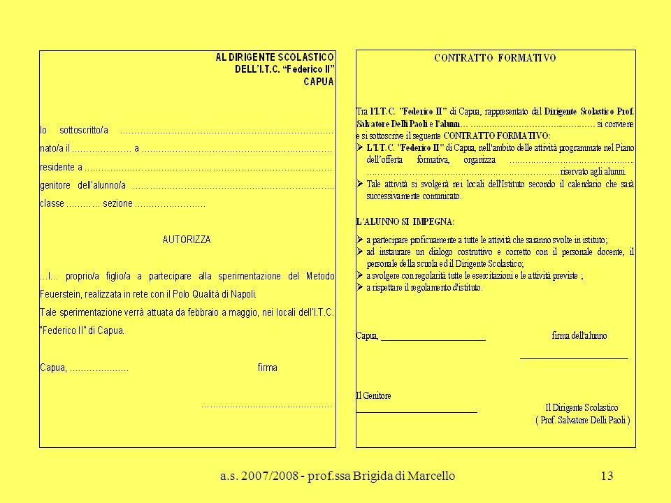 a.s. 2007/2008 - prof.ssa Brigida di Marcello13