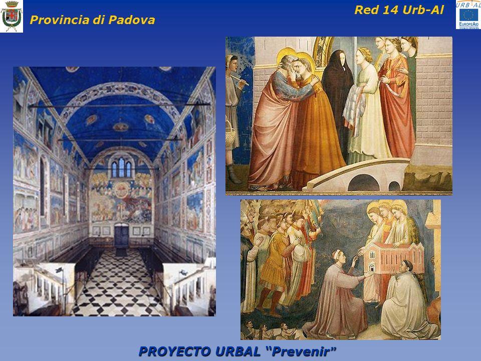 Provincia di PadovaRed 14 Urb-Al PROGETTI di PREVENZIONE: 1.Prato della Valle 2.Progetto Pilota Regionale 2002 3.Progetto Pilota Regionale 2004 4.Dobermann Padova 5.AGIS - Buon Vicinato