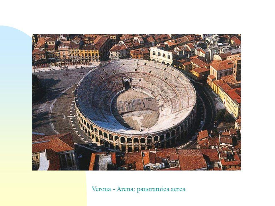 Verona - Arena: panoramica aerea