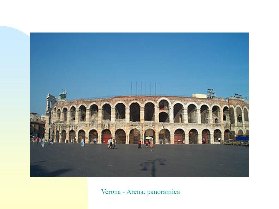 Verona - Arena: panoramica