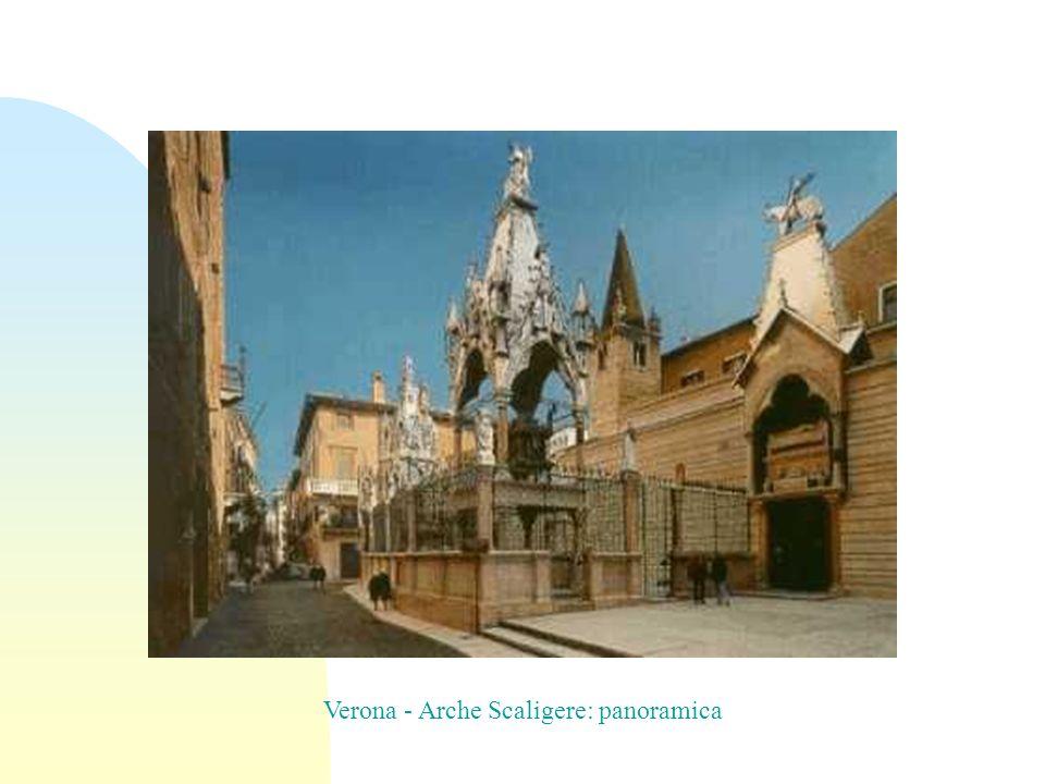 Verona - Arche Scaligere: panoramica