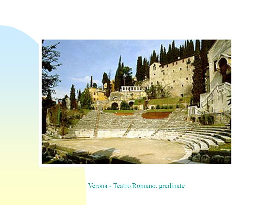 Verona - Teatro Romano: gradinate