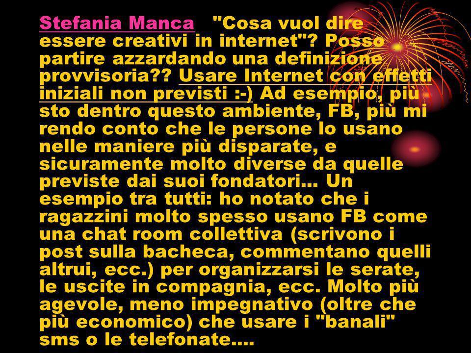 Stefania MancaStefania Manca