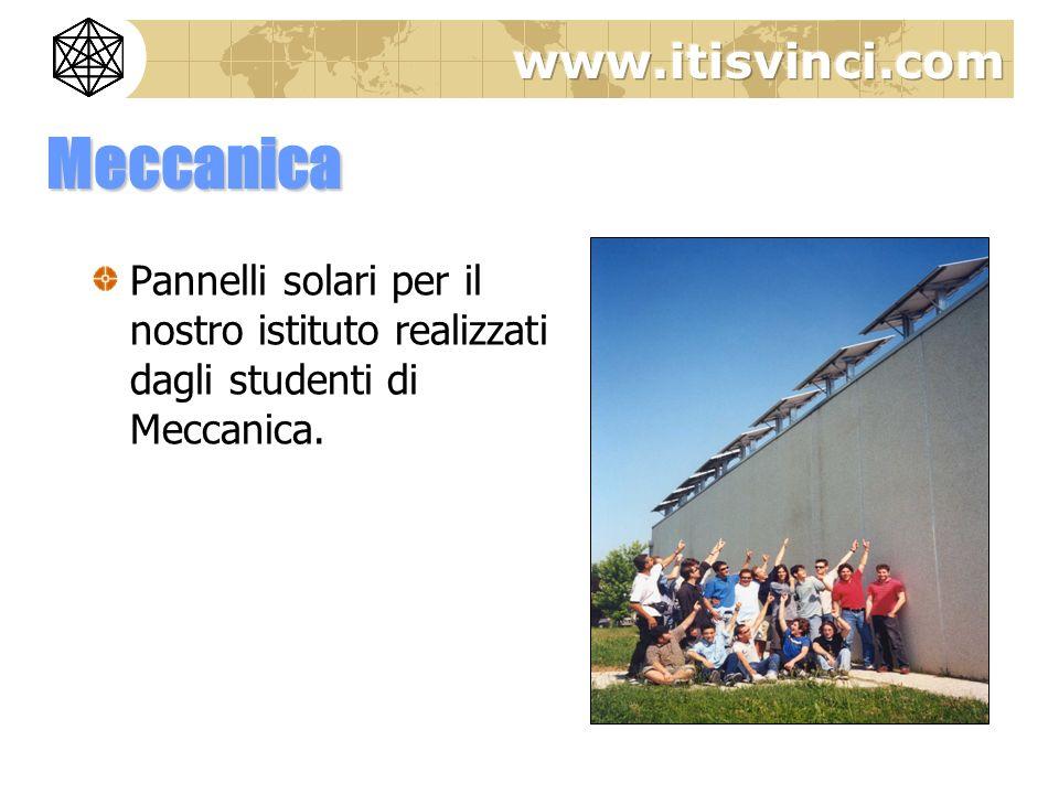 Meccanica Pannelli solari per il nostro istituto realizzati dagli studenti di Meccanica.