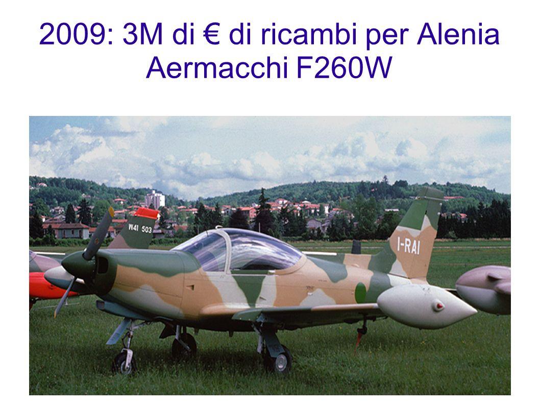 2009: 3M di di ricambi per Alenia Aermacchi F260W