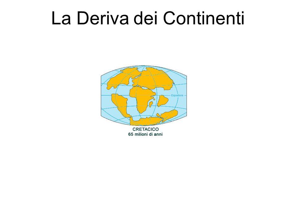 La Deriva dei Continenti Nel 1915 lo scienziato tedesco Alfred Wegener nel suo libroLa formazione degli Oceani e dei Continenti espone la sua teoria s