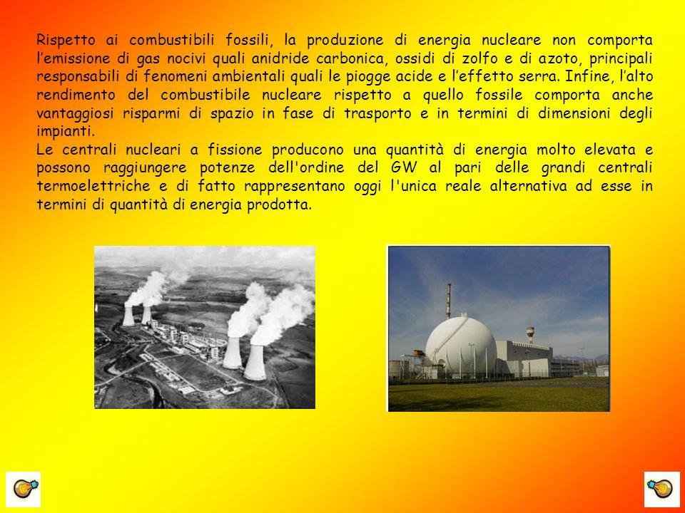 VANTAGGI: Forma di energia immagazzinata nel nucleo dellatomo, responsabile dei legami che tengono uniti i suoi costituenti.