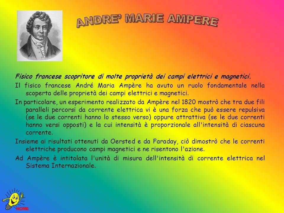 Fisico francese scopritore di molte proprietà dei campi elettrici e magnetici.