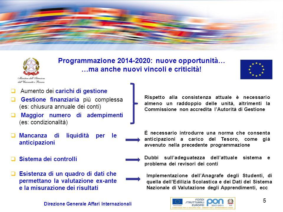 Position Paper per lItalia Obiettivo del documento: delineare il quadro degli elementi della concertazione fra i Servizi della Commissione e lItalia sulla preparazione dellAccordo di Partenariato e del contenuto dei Programmi.