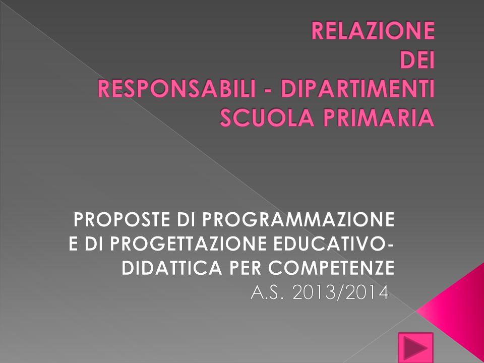 La programmazione e la progettazione educativo- didattica avrà come riferimento le Indicazioni Nazionali per il curricolo della scuola dellinfanzia e del primo ciclo dellistruzione, come da D.L.