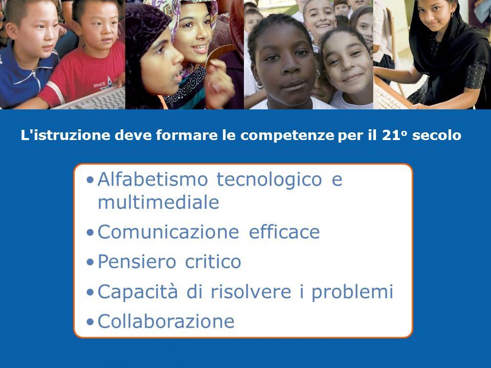I programmi dell'Iniziativa Intel Education sono finanziati dalla Intel Foundation e da Intel Corporation. Copyright © 2008 Intel Corporation. Tutti i
