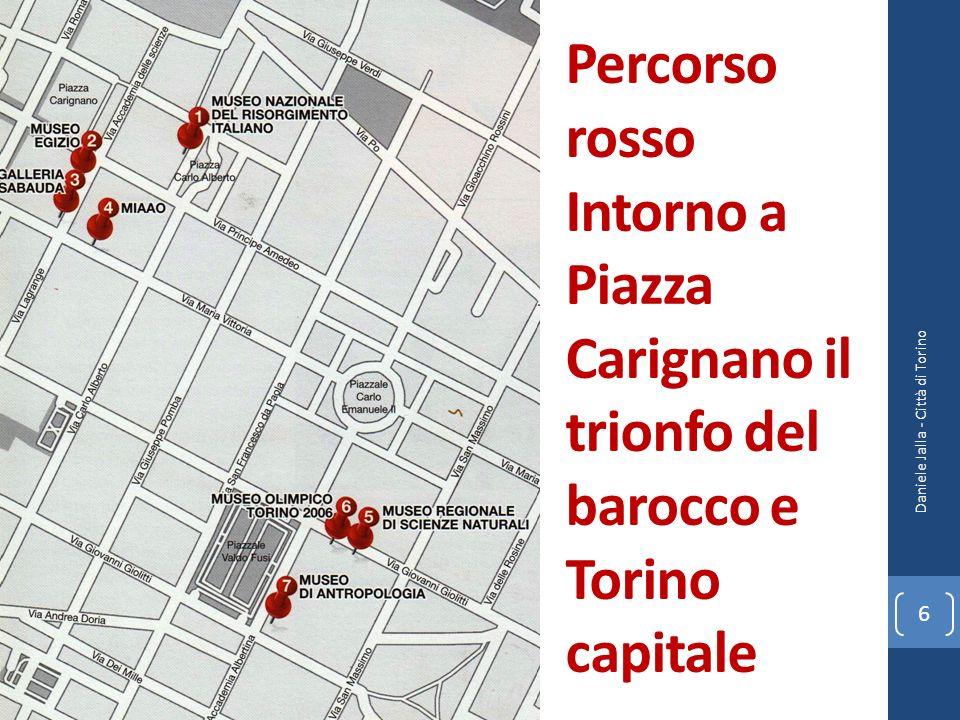 Percorso lilla Via Po, la Mole antonelliana e la collina Daniele Jalla - Città di Torino 7