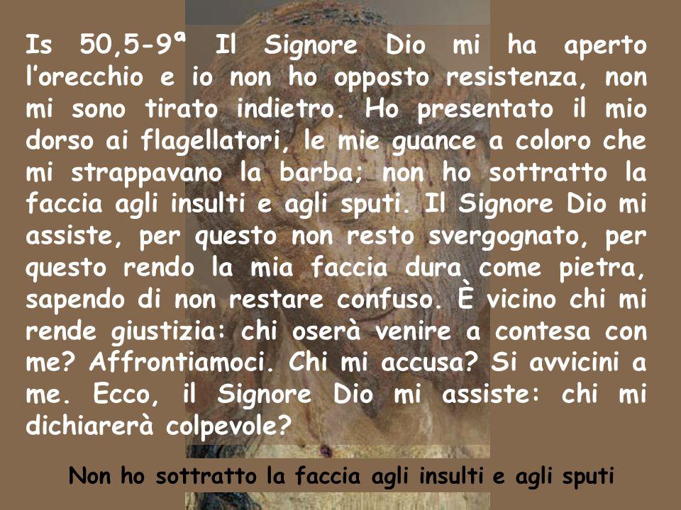 Musica: Canto della Passione Anno B 13 settembre 2009 Domenica XXlV Tempo ordinario Domenica XXlV Tempo ordinario