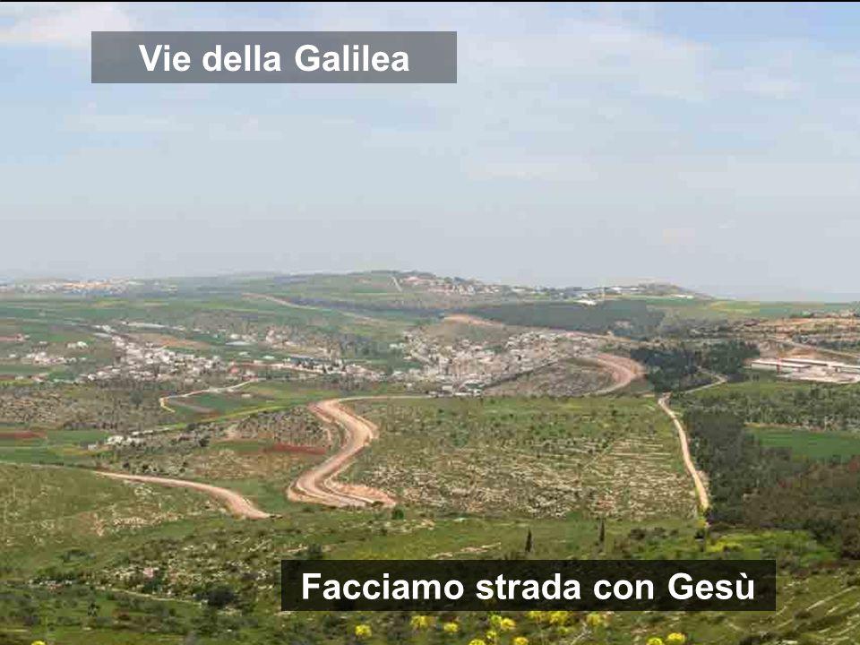 Vie della Galilea Facciamo strada con Gesù