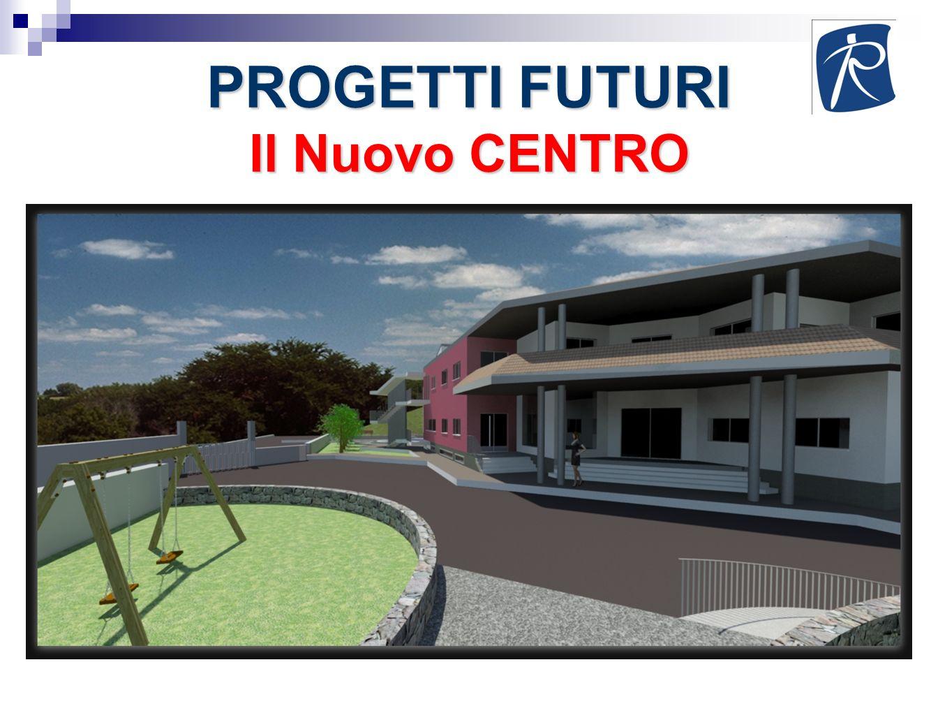 PROGETTI FUTURI Il Nuovo CENTRO