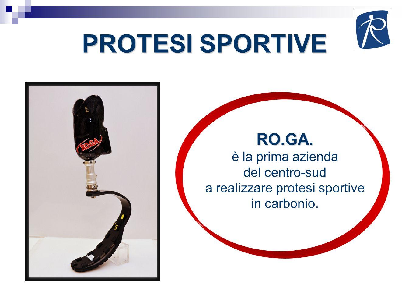 PROTESI SPORTIVE RO.GA. è la prima azienda del centro-sud a realizzare protesi sportive in carbonio.