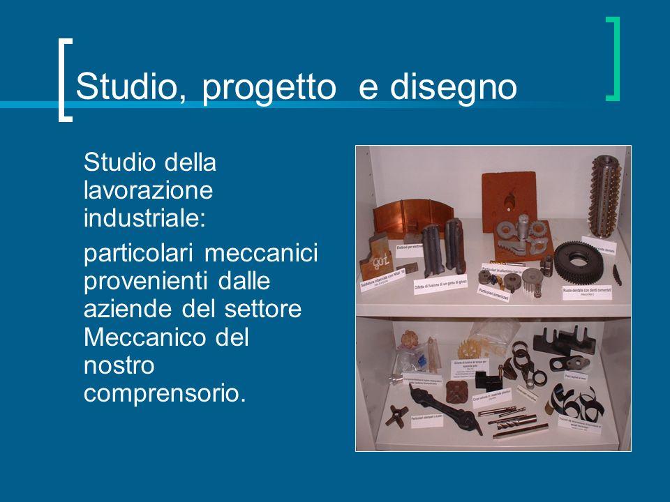 Studio, progetto e disegno Studio della lavorazione industriale: particolari meccanici provenienti dalle aziende del settore Meccanico del nostro comp