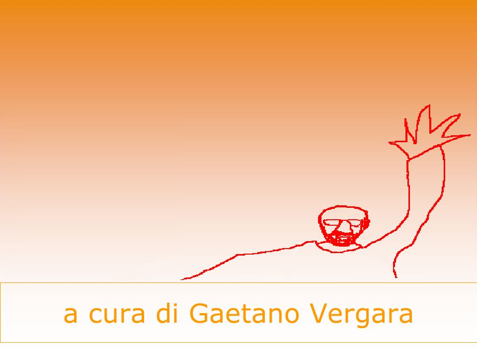 a cura di Gaetano Vergara