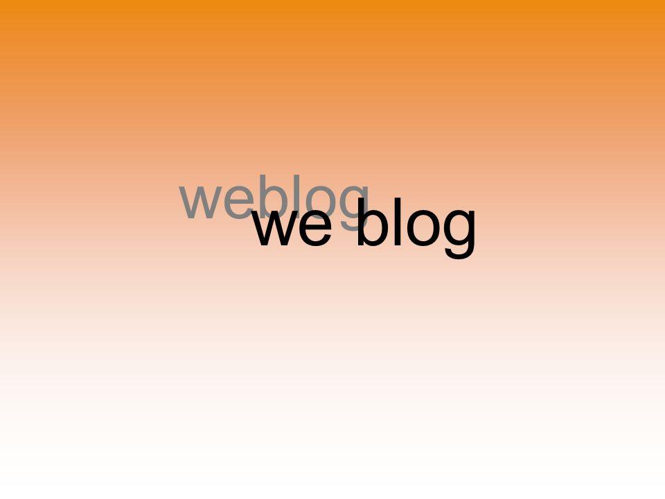 weblog