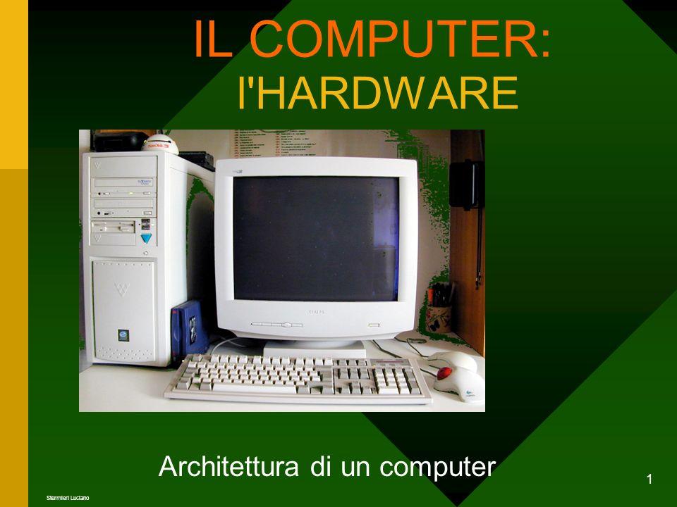 1 IL COMPUTER: l'HARDWARE Architettura di un computer Stermieri Luciano
