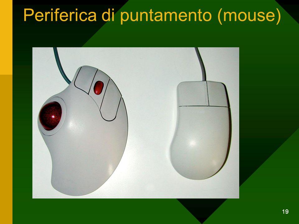 19 Periferica di puntamento (mouse)
