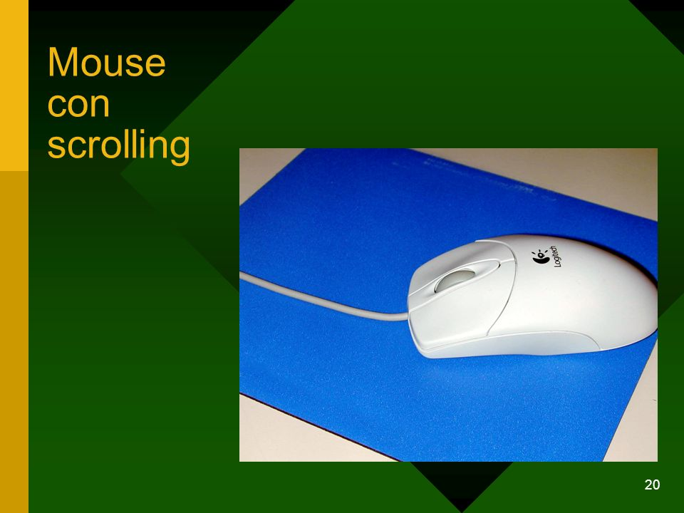 20 Mouse con scrolling