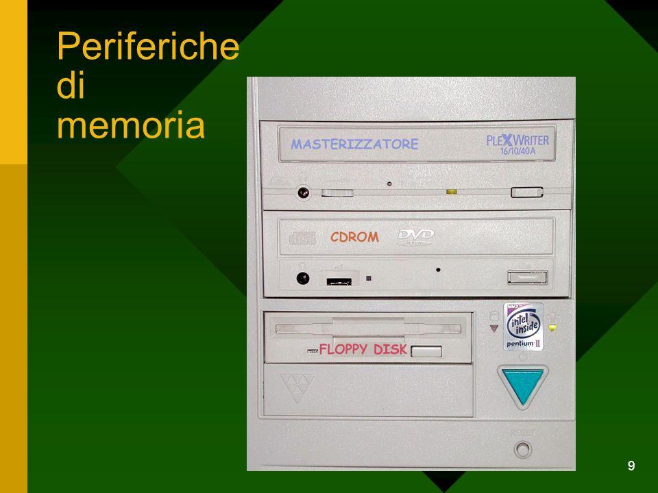 9 Periferiche di memoria