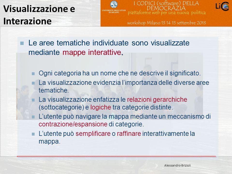 Carlo Crespellani Porcella Progetto POR 2000-2006 : Progettazione ambientale Visualizzazione e Interazione Alessandro Brizioli. Le aree tematiche indi