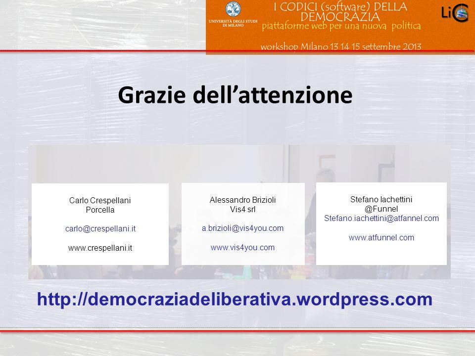 Progetto POR 2000-2006 : Progettazione ambientale Grazie dellattenzione Carlo Crespellani Porcella carlo@crespellani.it www.crespellani.it Alessandro