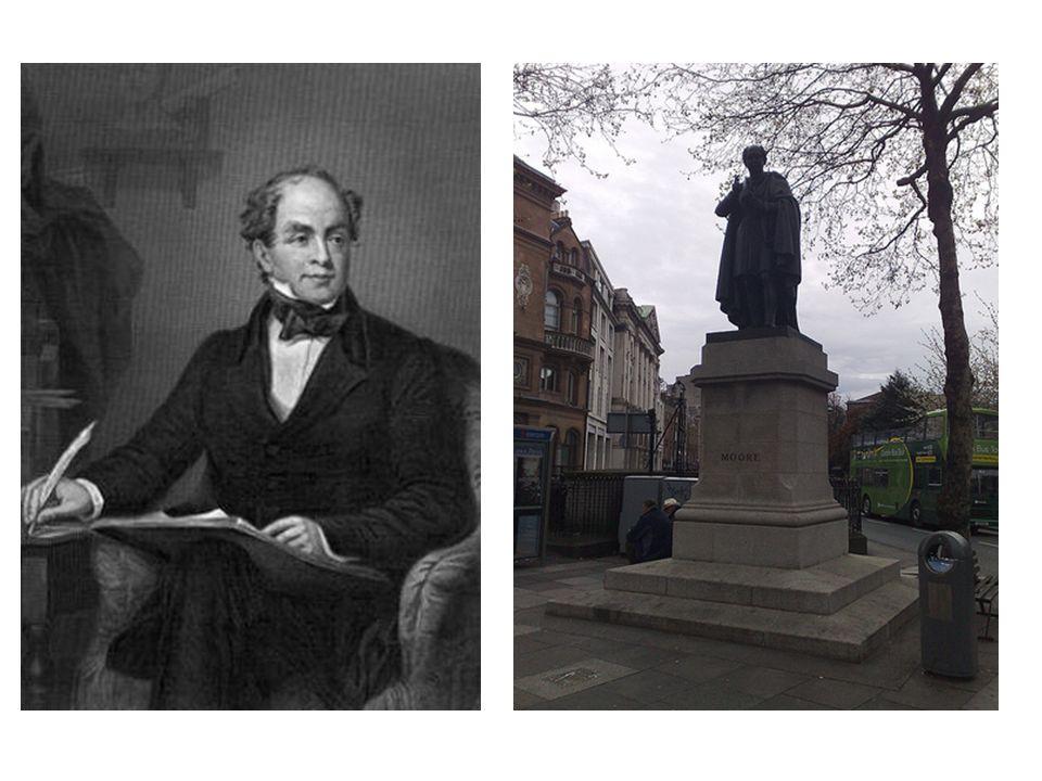Thomas Moore, IRELANDS MINSTREL (1779-1852) 1)Moore o More.