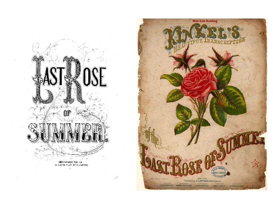 tis the last rose of summer (1805) - prima pubbl.