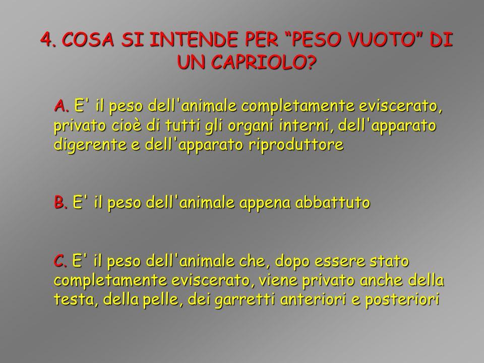 5.COSA SI INTENDE PER MUTA PRIMAVERILE DI UN CAPRIOLO.