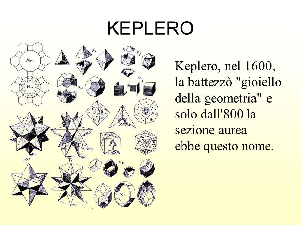 Keplero, nel 1600, la battezzò