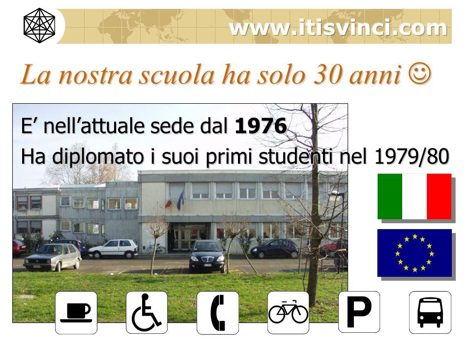 La nostra scuola ha solo 30 anni La nostra scuola ha solo 30 anni E nellattuale sede dal 1976 Ha diplomato i suoi primi studenti nel 1979/80