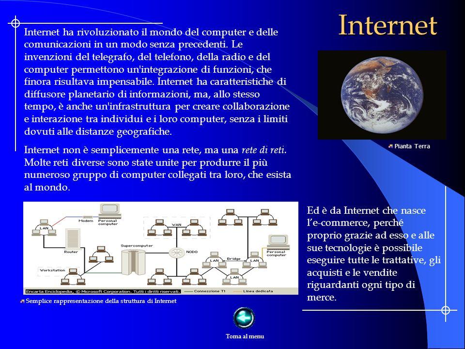 Internet Internet ha rivoluzionato il mondo del computer e delle comunicazioni in un modo senza precedenti.