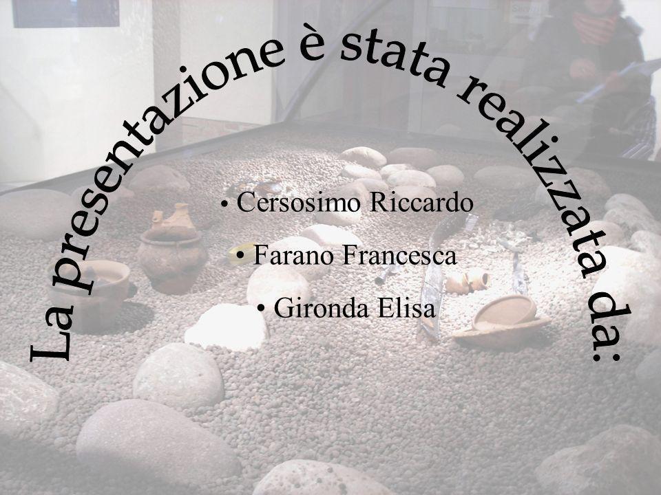Cersosimo Riccardo Farano Francesca Gironda Elisa