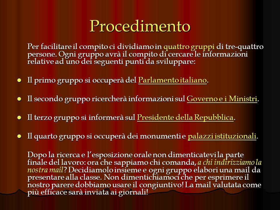 Risorse RISORSE UTILI PER TUTTI I GRUPPI: http://spazioinwind.libero.it/vettorpisani/finestresulmondo/sche de/index.html http://spazioinwind.libero.it/vettorpisani/finestresulmondo/sche de/index.html http://spazioinwind.libero.it/vettorpisani/finestresulmondo/sche de/index.html http://spazioinwind.libero.it/vettorpisani/finestresulmondo/sche de/index.html Sito che spiega facilmente i concetti chiave di popoli, nazioni, stati, poteri e forme dello stato http://www.dienneti.it/risorse/storia/educazione_civica.htm http://www.dienneti.it/risorse/storia/educazione_civica.htm http://www.dienneti.it/risorse/storia/educazione_civica.htm Lista di siti utili per svipluppare questo tema http://www.difensorecivico.roma.it/10/2687/2653/2661/2781/int erno_-v.0.pdf http://www.difensorecivico.roma.it/10/2687/2653/2661/2781/int erno_-v.0.pdf http://www.difensorecivico.roma.it/10/2687/2653/2661/2781/int erno_-v.0.pdf http://www.difensorecivico.roma.it/10/2687/2653/2661/2781/int erno_-v.0.pdf La Costituzione Italiana spiegata in molto semplice ed accattivante ai ragazzi