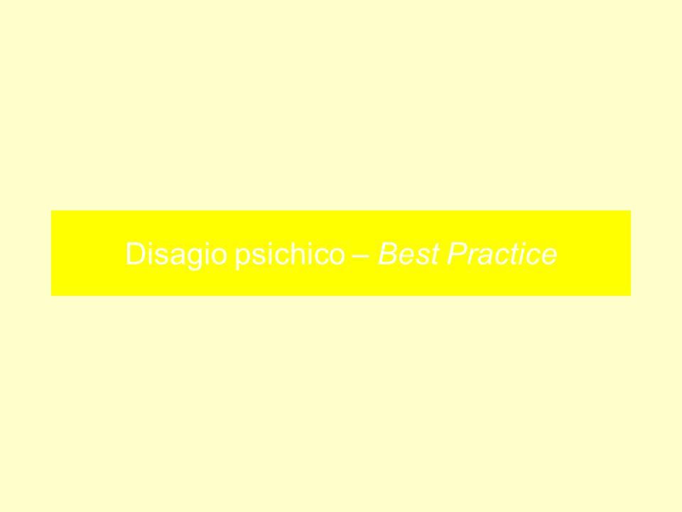 Disagio psichico – Best Practice