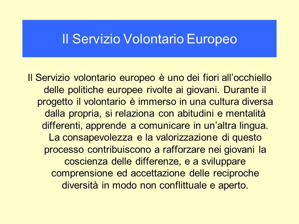 Il Servizio volontario europeo è uno dei fiori allocchiello delle politiche europee rivolte ai giovani.