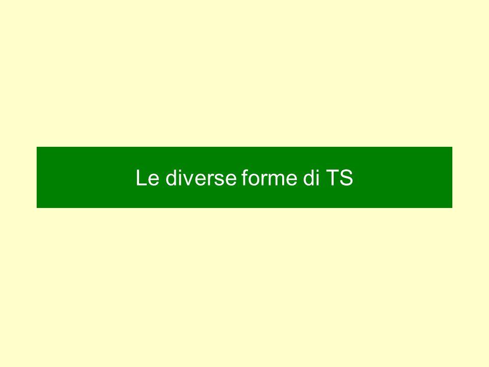 Le diverse forme di TS