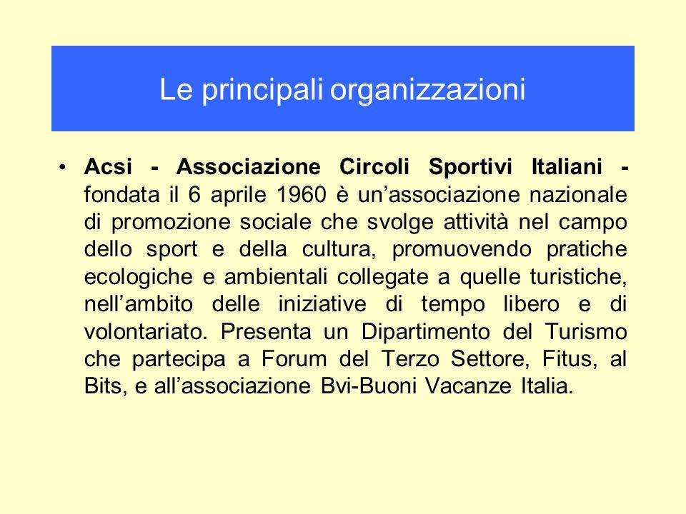 Acsi - Associazione Circoli Sportivi Italiani - fondata il 6 aprile 1960 è unassociazione nazionale di promozione sociale che svolge attività nel camp